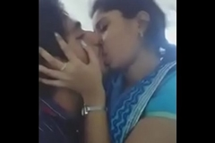 desi indian girlfriend giving a kiss her boyfriend
