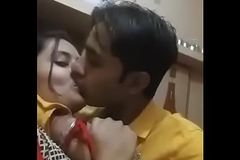indian girl giving a kiss