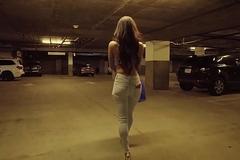 LoveHerFeet - Sexy Sophia Leone Deepthroats &_ Rides A Chunky Dick
