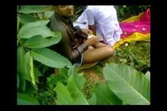 Indian school girl fucking teacher in alfresco sex