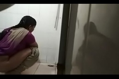 Desi office toilet spy cam1