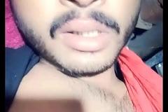 Indian baffle orgasm face together with cumshot