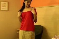 Desi indian lawful age teenager gals hindi hurtful speak habitation made hd porn membrane