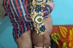 old lady not here  alone indian shy girl  fucked by her teacher