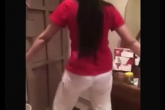 Hot Indian girl dance regarding friends