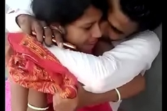 Indian boyfriend and girlfriend try to copulation
