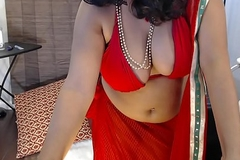 Indian White wife masturbating on webcam