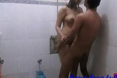 Indian Amateur Coupler Sonia and Sunny Hardcore Copulation In Bathroom