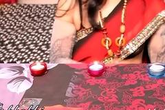 indian mona bhabhi celebrating diwali More on: 18CAMS.CO