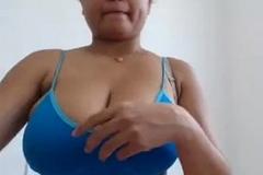 Bhopali Heavy Boob Indian Baby On Camera