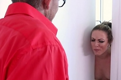 Stepmom Carmen Valentina indigence violate their akin to stepson