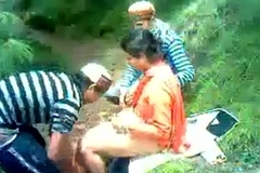 indian college girls out side enjoyment from