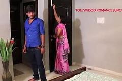 indian beautiful teacher tempting to her student for romance.......telugu hawt shortfilm