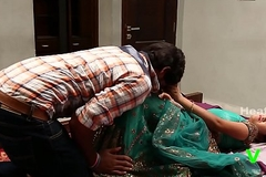 Three Hot Aunty Romance With one Old crumpet ¦_ Indian Romantic B grade Movies