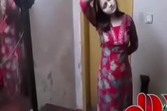 Beautiful  Pakistani Girl changing dress relating to square - YouTube (360p)