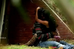 Indian Couple Tit Press &amp_ Fuck In Park