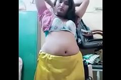 Swathi naidu star-gazer seducing while saree changing