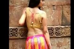 Desi girls in saree compilation video
