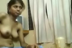 Nude Girl Eating Food
