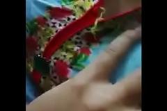 Rupa Boobs Pressing by his Boy Friend