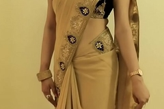Hawt GIRL SAREE WEARING and Akin to will not hear of NAVEL and BACK