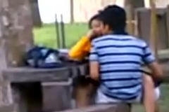 Indian fuck movie College Students Fucking in public park Voyeur Recorded by people